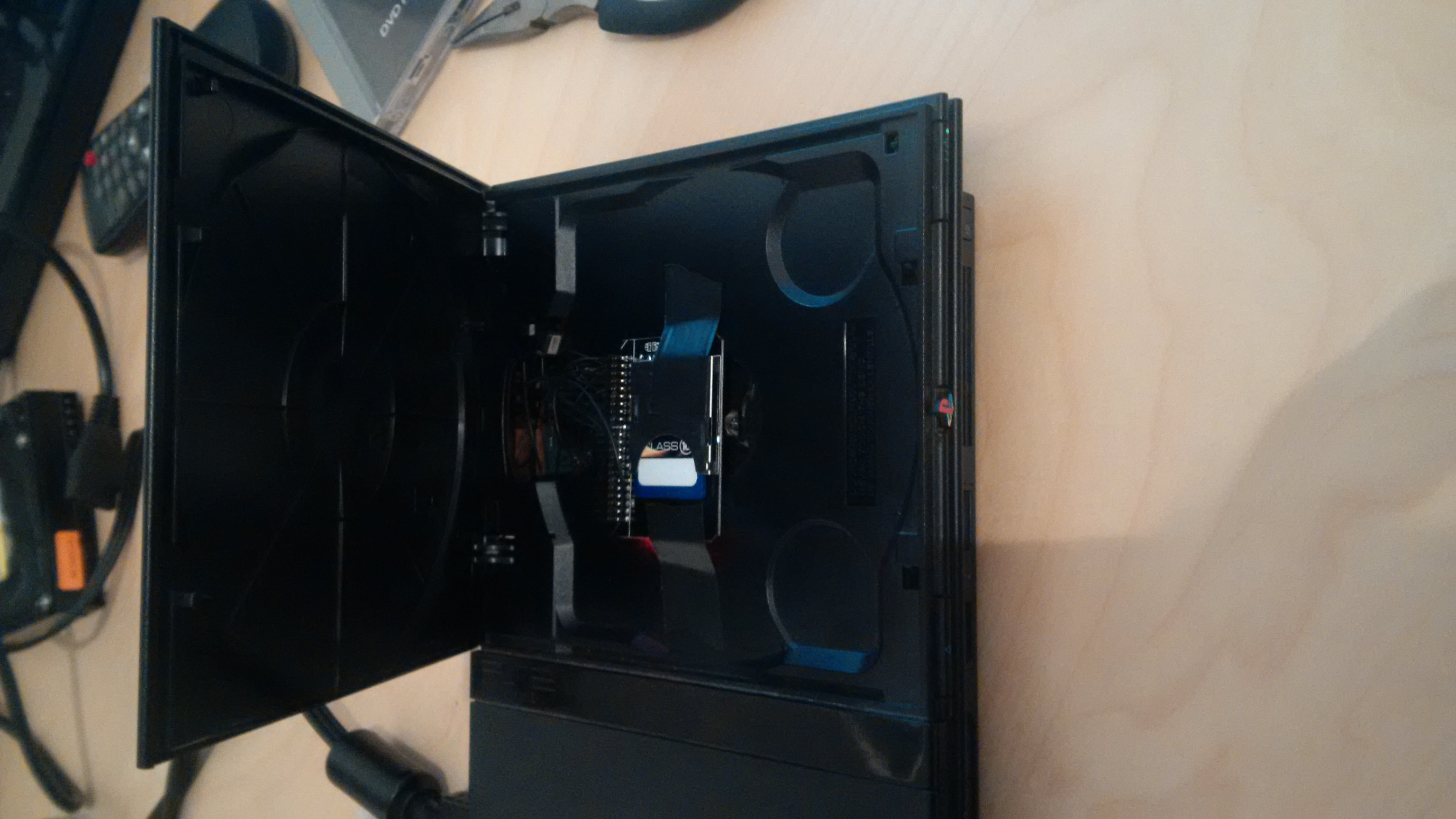 PS2 Slim SCPH 7000x Serie mit SD Karte betreiben - Sony - Circuit-Board