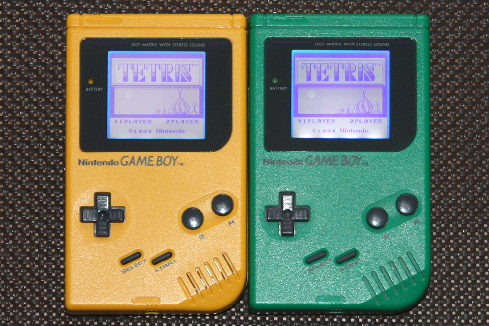 Bivert-Mod für Game Boy DMG und Game Boy Pocket - Nintendo