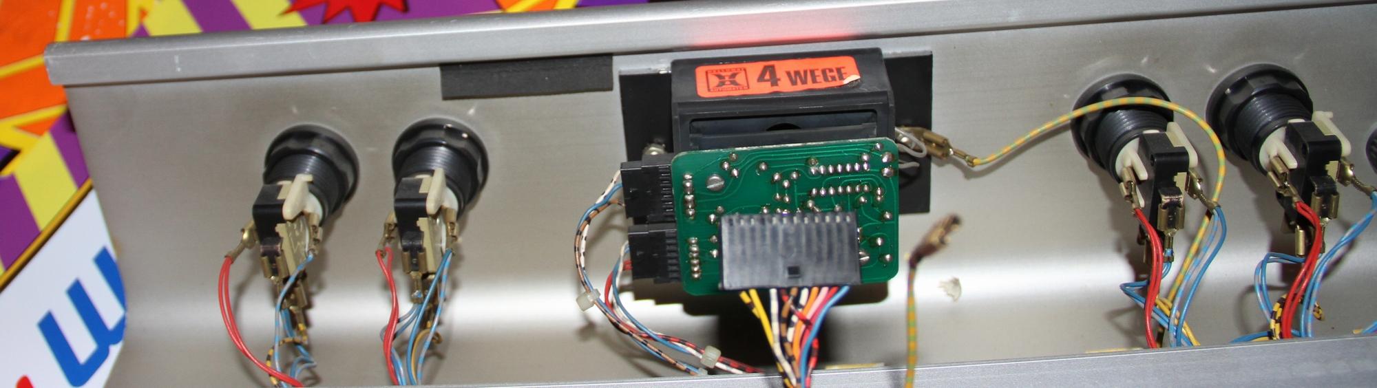 Üble Joystick Verkabelung - Arcade - Circuit-Board