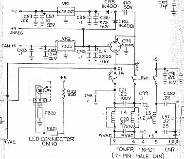 c64 am pc netzteil home computer pc circuit board. Black Bedroom Furniture Sets. Home Design Ideas