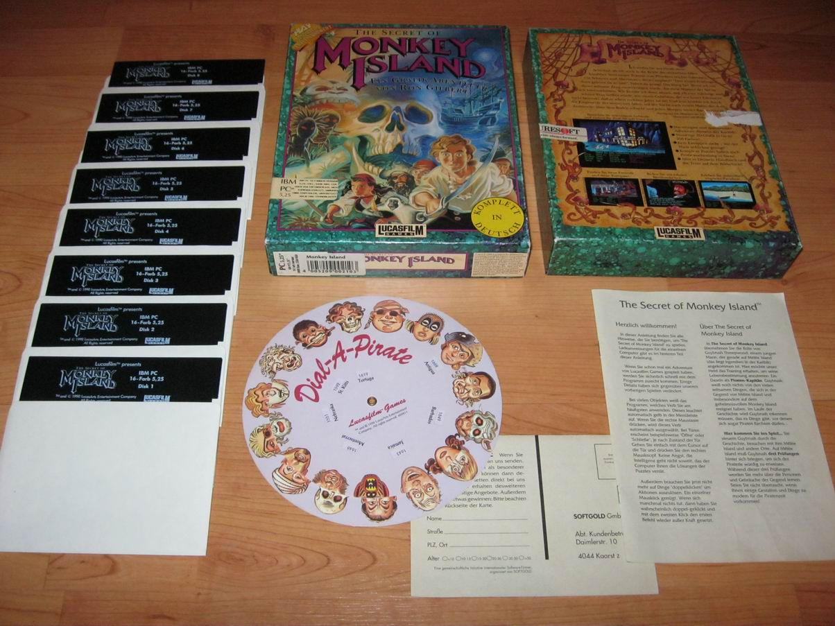 Monkey Island Kopierschutz